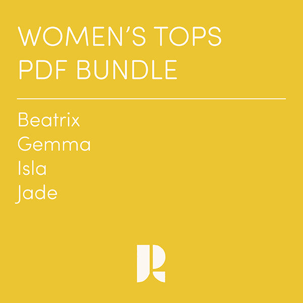 Women's Tops Patterns PDF Bundle