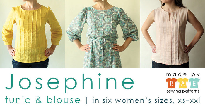 Josephine Sewing Pattern PDF