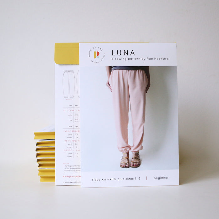 Luna Pants PRINTED Sewing Pattern | Made by Rae