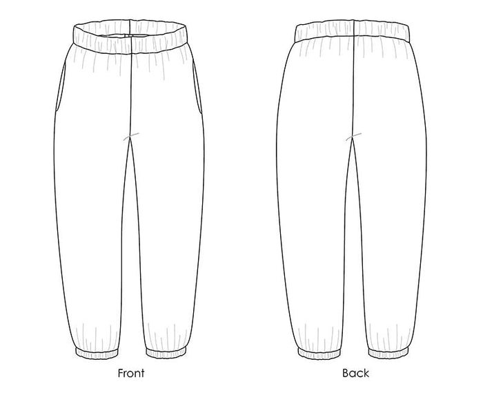 Luna Pants sewing pattern