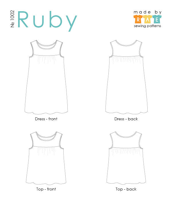 Ruby Sewing Pattern PDF