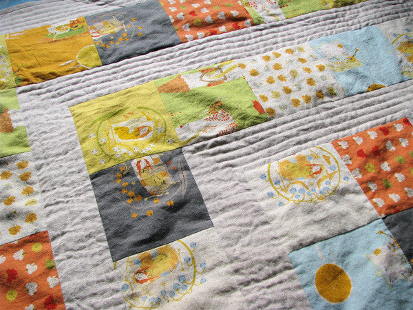 Storytime Squares Quilt