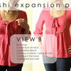 Washi Expansion Pack Sewing Pattern PDF