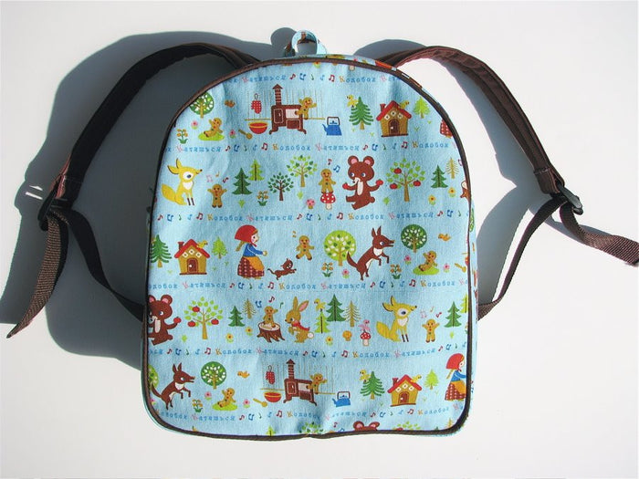Toddler Backpack Sewing Pattern PDF