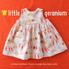 Little Geranium Dress