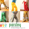 Parsley Pants Sewing Pattern / made by rae