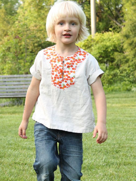 Charlie Tunic Sewing Pattern PDF