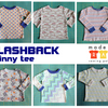 Flashback Skinny Tee Sewing Pattern PDF