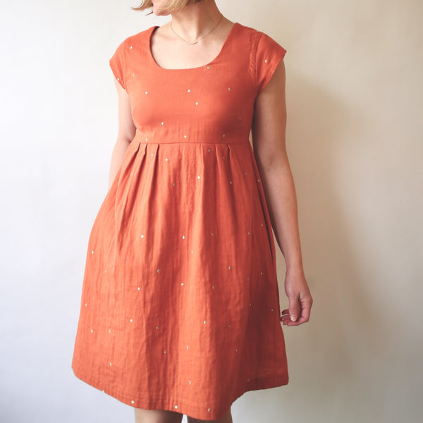 Trillium Dress Sewing Pattern PDF