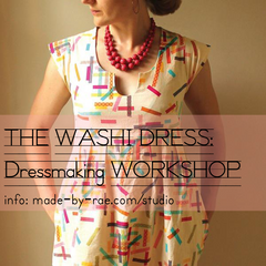Washi Dress Workshop