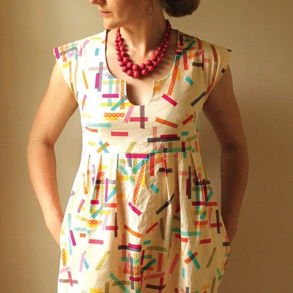 Washi Dress Sewing Pattern PDF