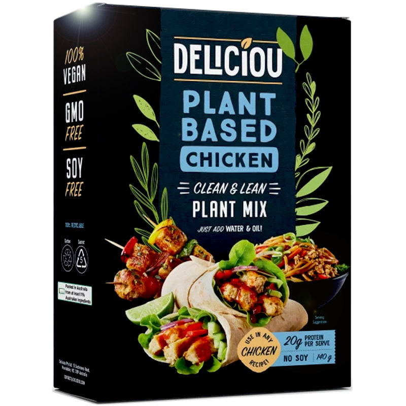 Deliciou Plant Based Chicken Mix - 4.9 oz