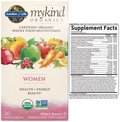 mykind organics womens once daily