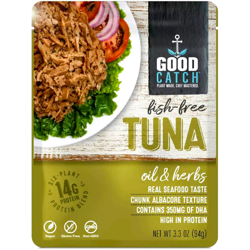 Good Catch Fish Free Tuna Oil and Herbs - 3.3 oz.