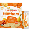 Happy Baby Organic Sweet Potato & Banana Teethers - 12 Pk