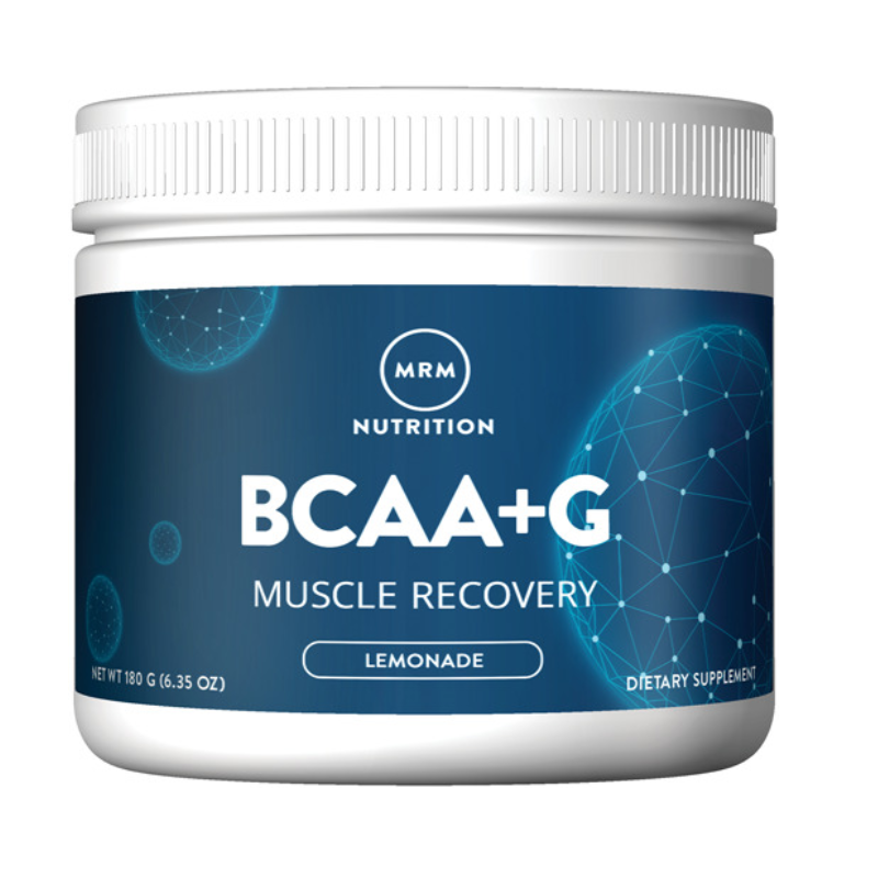 MRM Nutrition BCAA+G Muscle Recovery Lemonade 6.35 oz