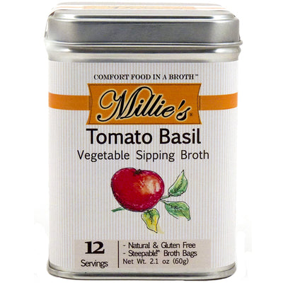 Millie's Tomato Basil Vegetable Sipping Broth