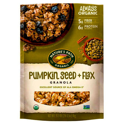 Nature's Path Organic Pumpkin Seed + Flax Granola - 35.3 oz.