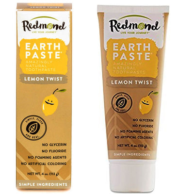 best cruelty free toothpaste redmond earthpaste lemon twist vegan tooth paste
