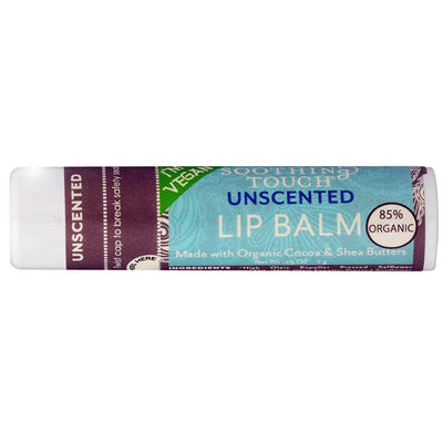 Soothing Touch Vegan Lip Balm Unscented - 0.25 oz