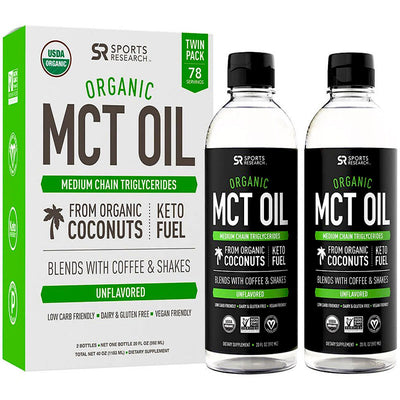 Sports Research Organic MCT Oil - 20 oz., 2 ct.
