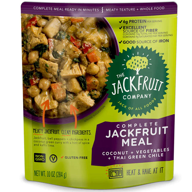 The Jackfruit Company Coconut+ Vegetables + Thai Green Chile - 10 oz.