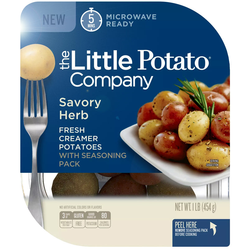 The Little Potato Company Microwavable Vegan Savory Herb