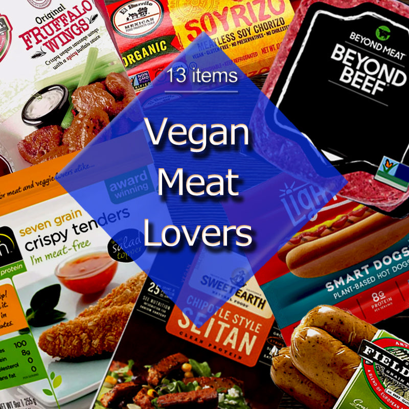 Vegan Black Market Counterfit Vegan Meat Lovers Bundle