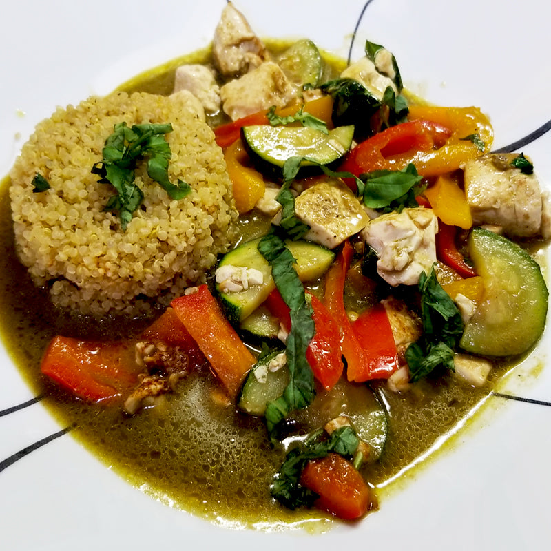 Vegan Green Thai Curry Meal Kit