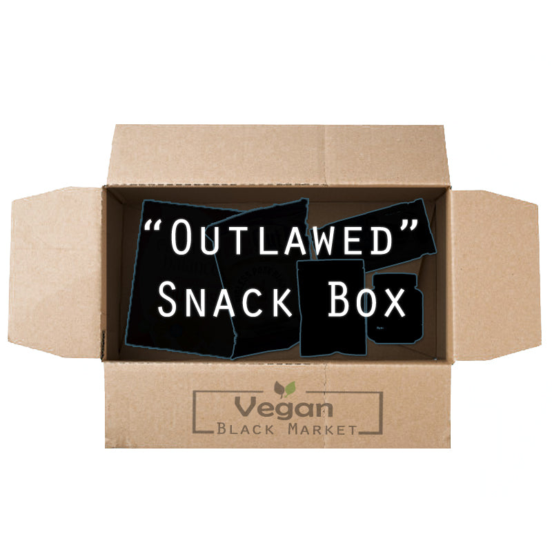 """Outlawed"" Vegan Black Market Snack Box 