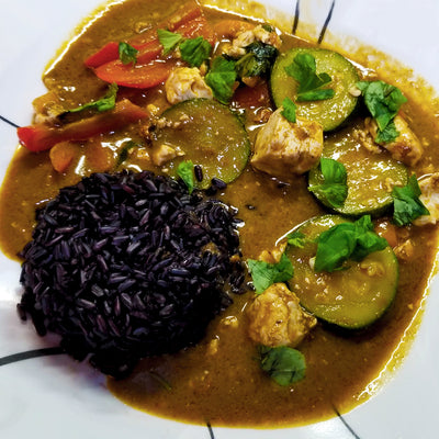 Vegan Black Market Vegan Red Thai Curry Meal Kit