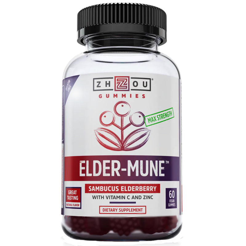 Zhou Elder-Mune Elderberry Gummies 60 ct.