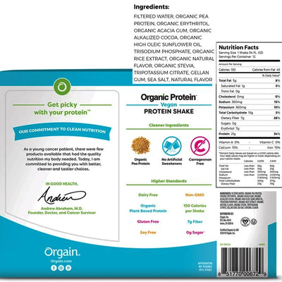 orgain organic protein powder for weight loss