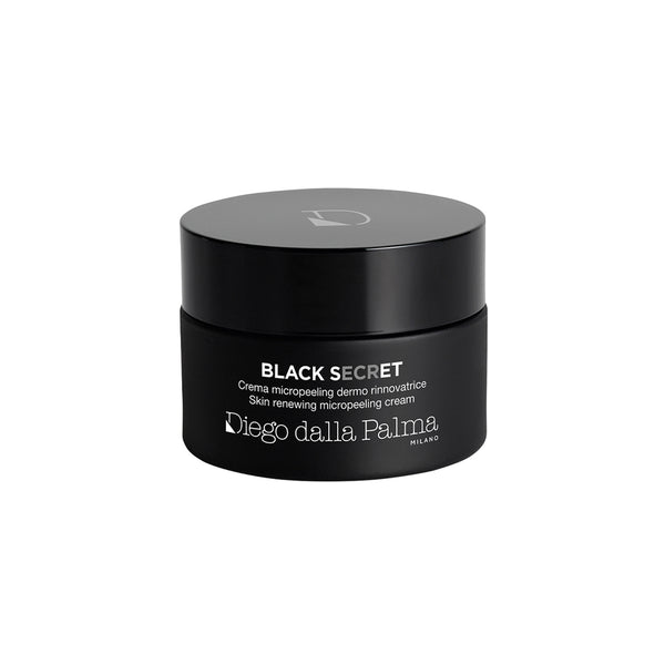 black secret - skin renewing micropeeling cream