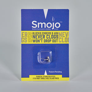 Smojo Permanent Smoking Screen (Container of 24 Regular Single Packs)