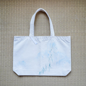 Silk Thread Bag (Light Blue)