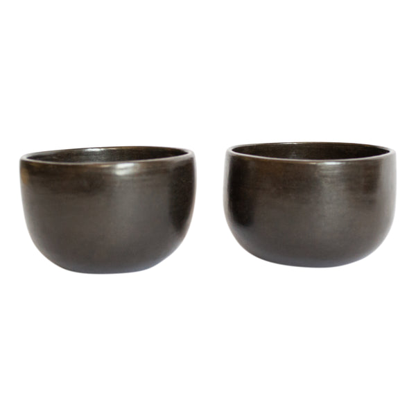 Beeswax Espresso Cups (x2) - Monocrhome