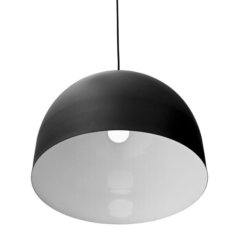Luceo Round Pendant Light - Monocrhome