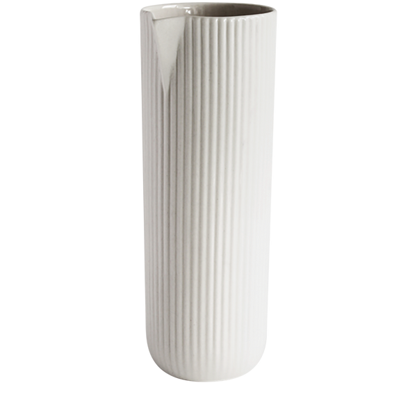 Ribbed Water Jug 750ml Archive Studio