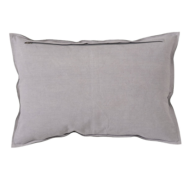 Grey Suede Cushion Bloomingville