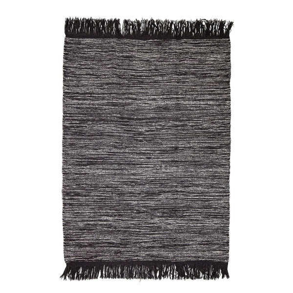 Grey Wool Rug Bloomingville