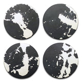 Coaster Set Concrete & Wax