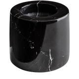 Marble Tea Light Holder Mason + Black