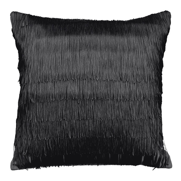 Velvet Tassel Cushion Square One Nine Eight Five