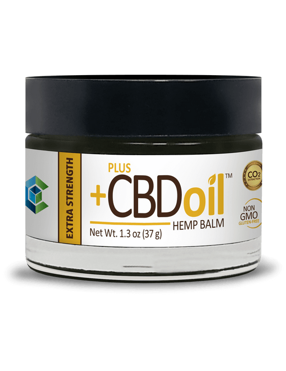 Plus CBD Oil 100mg Gold Balm Extra Strength