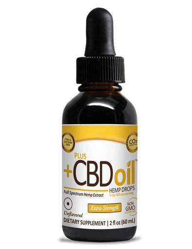 Plus CBD Oil 750mg Gold Drops