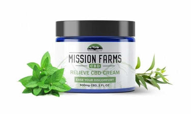 Mission Farms CBD 2oz Cream 300mg Relieve