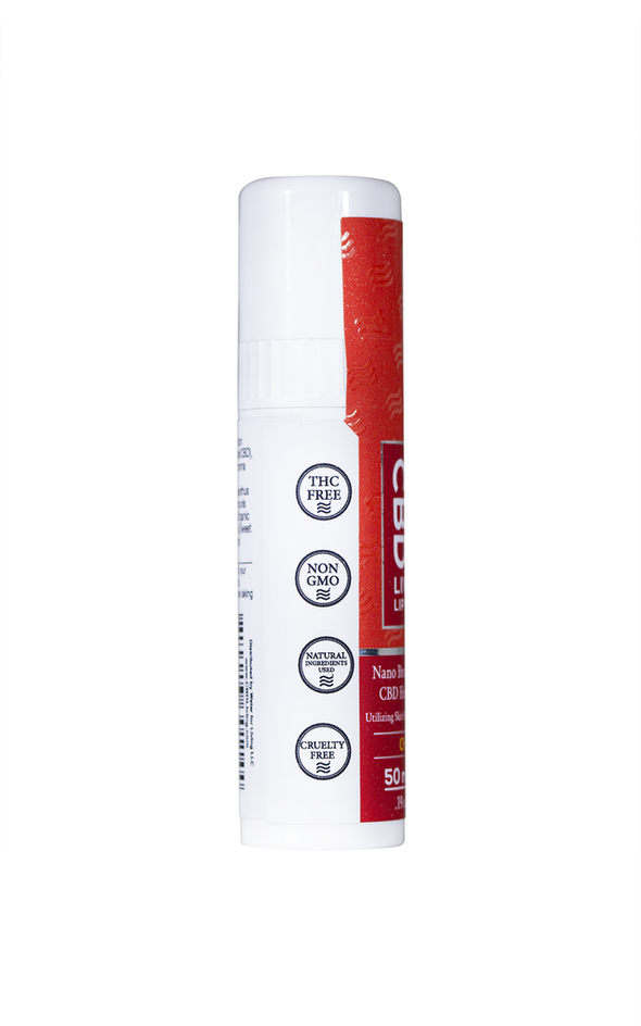 CBD Living 50mg Cherry Lip Balm