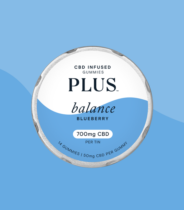 PLUS CBD 700mg Balance CBD PLUS gummy 14ct