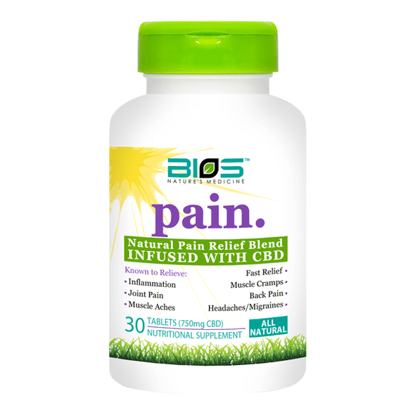 Bios Pain Tablets 30 Sublingual Tablets - 750mg